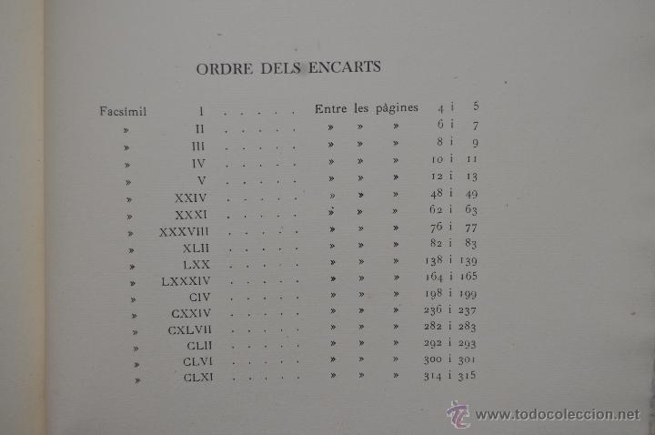 Libros de segunda mano: ELS GOIGS PER JOAN AMADES. 1939. ED.ORBIS. 2 VOLUMENES (COMPLETA) TIRAJE LIMITADO DE 500 EJEMPLARES. - Foto 31 - 44464385
