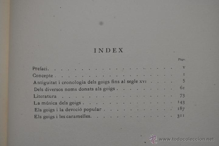Libros de segunda mano: ELS GOIGS PER JOAN AMADES. 1939. ED.ORBIS. 2 VOLUMENES (COMPLETA) TIRAJE LIMITADO DE 500 EJEMPLARES. - Foto 32 - 44464385