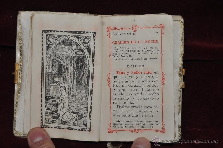 Libros de segunda mano: LOTE DE 5 DEVOCIONARIOS DE LA PRIMERA COMUNIÓN DE PRINCIPIOS DEL SIGLO XX - Foto 3 - 44464591