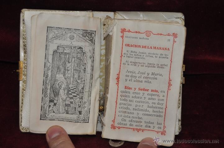 Libros de segunda mano: LOTE DE 5 DEVOCIONARIOS DE LA PRIMERA COMUNIÓN DE PRINCIPIOS DEL SIGLO XX - Foto 4 - 44464591