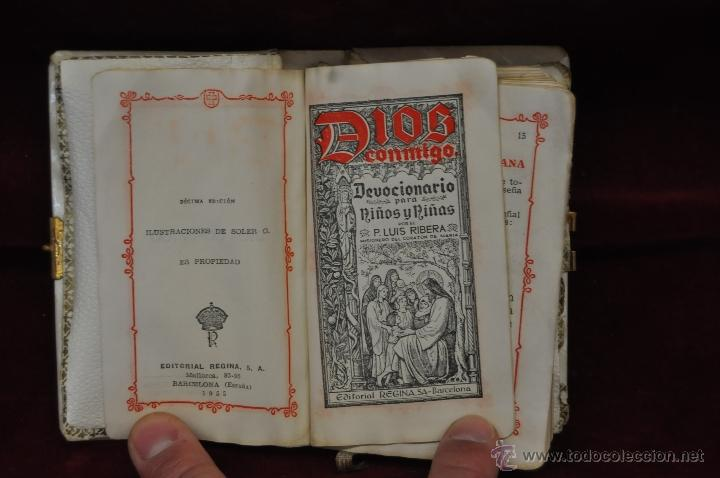 Libros de segunda mano: LOTE DE 5 DEVOCIONARIOS DE LA PRIMERA COMUNIÓN DE PRINCIPIOS DEL SIGLO XX - Foto 6 - 44464591