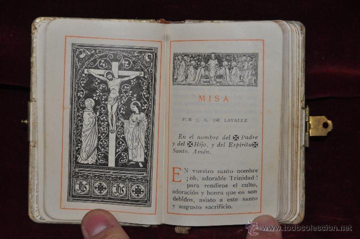 Libros de segunda mano: LOTE DE 5 DEVOCIONARIOS DE LA PRIMERA COMUNIÓN DE PRINCIPIOS DEL SIGLO XX - Foto 7 - 44464591