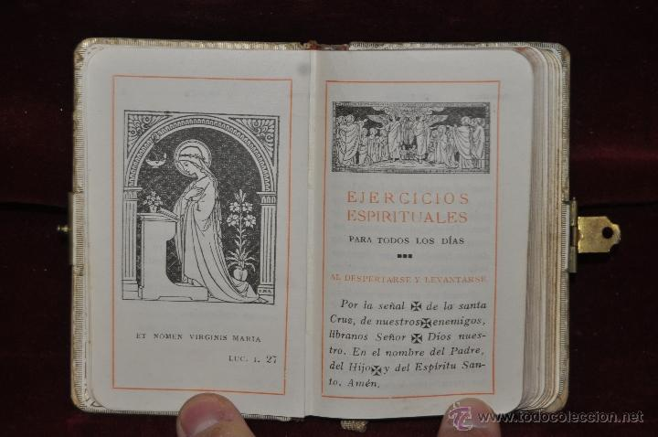 Libros de segunda mano: LOTE DE 5 DEVOCIONARIOS DE LA PRIMERA COMUNIÓN DE PRINCIPIOS DEL SIGLO XX - Foto 8 - 44464591