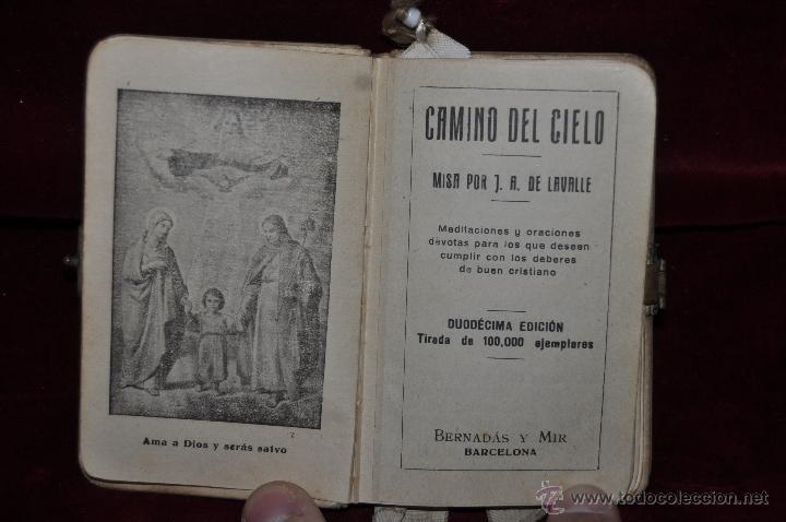 Libros de segunda mano: LOTE DE 5 DEVOCIONARIOS DE LA PRIMERA COMUNIÓN DE PRINCIPIOS DEL SIGLO XX - Foto 14 - 44464591