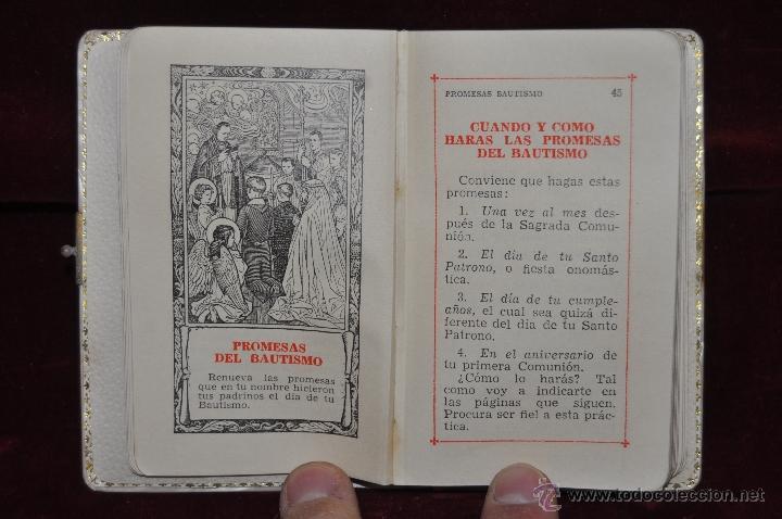 Libros de segunda mano: LOTE DE 5 DEVOCIONARIOS DE LA PRIMERA COMUNIÓN DE PRINCIPIOS DEL SIGLO XX - Foto 16 - 44464591