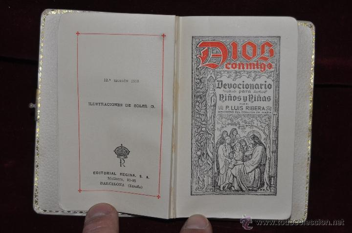Libros de segunda mano: LOTE DE 5 DEVOCIONARIOS DE LA PRIMERA COMUNIÓN DE PRINCIPIOS DEL SIGLO XX - Foto 19 - 44464591