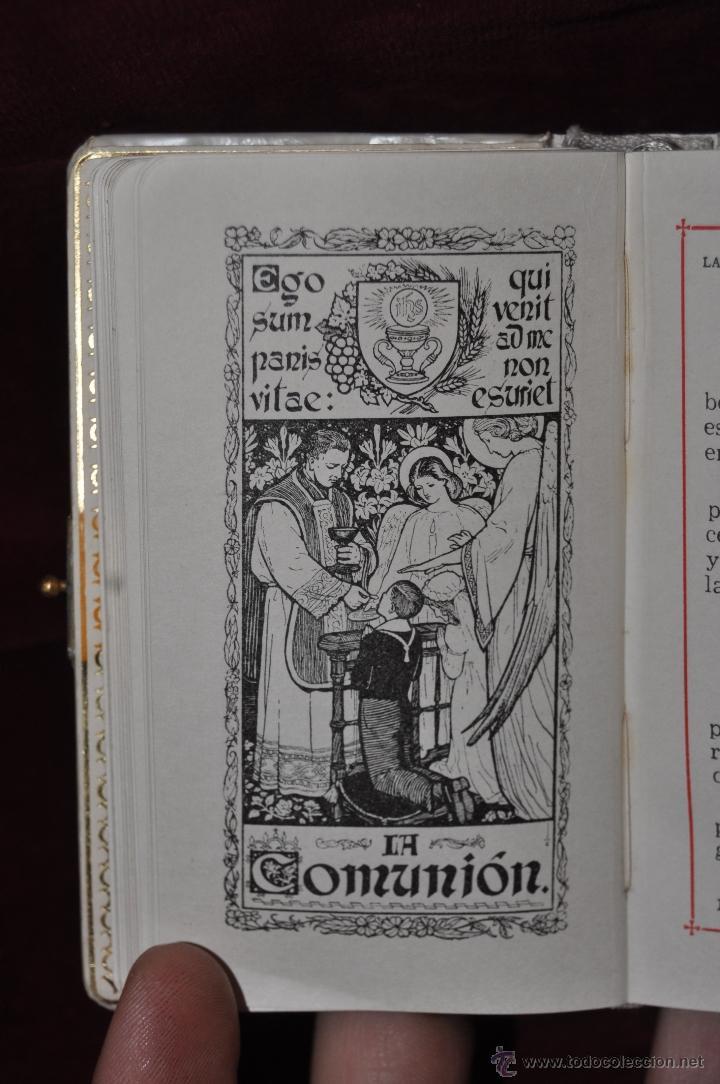 Libros de segunda mano: LOTE DE 5 DEVOCIONARIOS DE LA PRIMERA COMUNIÓN DE PRINCIPIOS DEL SIGLO XX - Foto 23 - 44464591