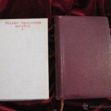 Libros de segunda mano: TEATRO TEOLOGICO ESPAÑOL - DOS TOMOS - B.A.C. . Lote 44646339
