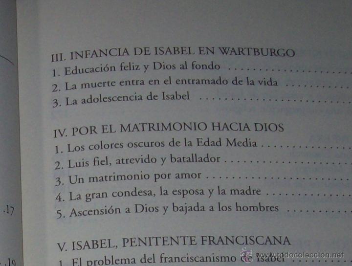 Libros de segunda mano: SANTA ISABEL.DEDICATORIA Y FIRMA ORIGINAL DEL AUTOR SALVADOR CABOT ROSSELLÓ.2006.UNA JOYA.VER FOTOS. - Foto 7 - 44692386