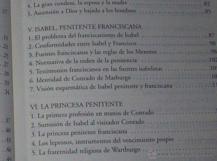 Libros de segunda mano: SANTA ISABEL.DEDICATORIA Y FIRMA ORIGINAL DEL AUTOR SALVADOR CABOT ROSSELLÓ.2006.UNA JOYA.VER FOTOS. - Foto 8 - 44692386