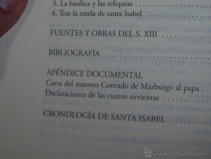 Libros de segunda mano: SANTA ISABEL.DEDICATORIA Y FIRMA ORIGINAL DEL AUTOR SALVADOR CABOT ROSSELLÓ.2006.UNA JOYA.VER FOTOS. - Foto 13 - 44692386