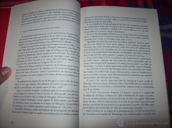 Libros de segunda mano: SANTA ISABEL.DEDICATORIA Y FIRMA ORIGINAL DEL AUTOR SALVADOR CABOT ROSSELLÓ.2006.UNA JOYA.VER FOTOS. - Foto 15 - 44692386