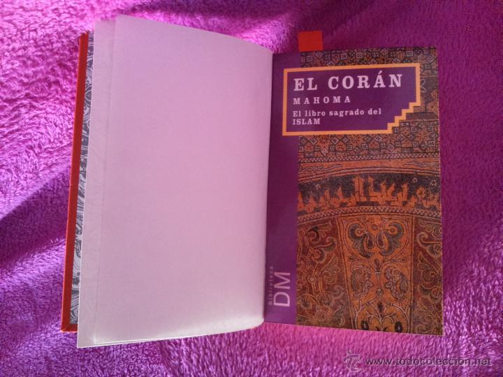Libros de segunda mano: EL CORAN MAHOMA EL LIBRO SAGRADO DEL ISLAM, MAHOMA 1994 - Foto 2 - 44791862