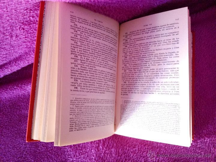Libros de segunda mano: EL CORAN MAHOMA EL LIBRO SAGRADO DEL ISLAM, MAHOMA 1994 - Foto 3 - 44791862