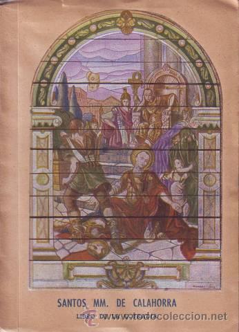 COFRADIA DE LOS SANTOS MARTIRES SAN EMETERIO Y SAN CELEDONIO DE CALAHORRA. (Libros de Segunda Mano - Religión)