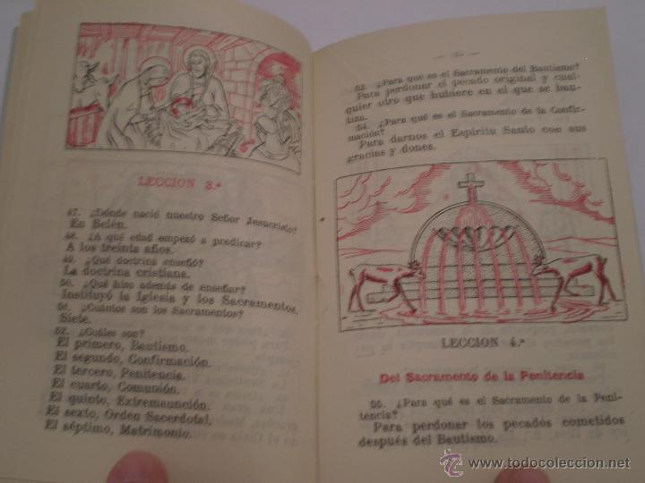 Libros de segunda mano: CATECISMO PREPARATORIO A LA PRIMERA COMUNION.EDICIONES BRUÑO.1951 - Foto 4 - 44914051
