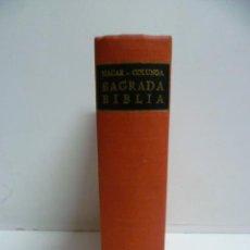 Libros de segunda mano: LA SAGRADA BIBLIA - 1970 - ILUSTRADA (VER FOTOS) R.A.C.. Lote 45014603