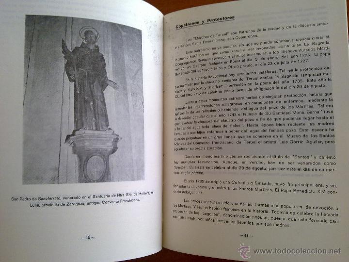 Libros de segunda mano: LOS SANTOS MÁRTIRES DE TERUEL, - Foto 2 - 45110590