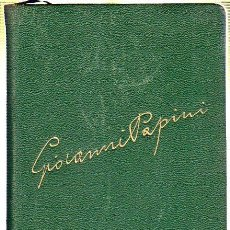 Libros de segunda mano: HISTORIA DE CRISTO. GIOVANNI PAPINI. EDICIONES FAX. 1944. Lote 176860769