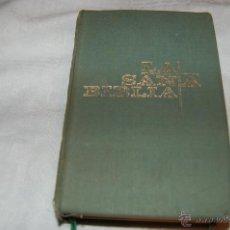 Libros de segunda mano: LA SANTA BIBLIA DE EDICIONES PAULINAS. Lote 110085643