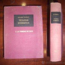 Libros de segunda mano: SCHMAUS, MICHAEL. TEOLOGÍA DOGMÁTICA. I: LA TRINIDAD DE DIOS. Lote 45720240
