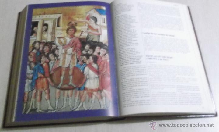 Libros de segunda mano: ANTONIO FUENTES MENDIOLA (DIR.). La Biblia, mensaje vivo. CUATRO TOMOS. RM66716. - Foto 3 - 45726649