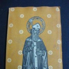 Libros de segunda mano: VIDA DE SAN NICOLAS DE BARI.IMPRENTA LA HORMIGA DE ORO 1953.. Lote 46343726
