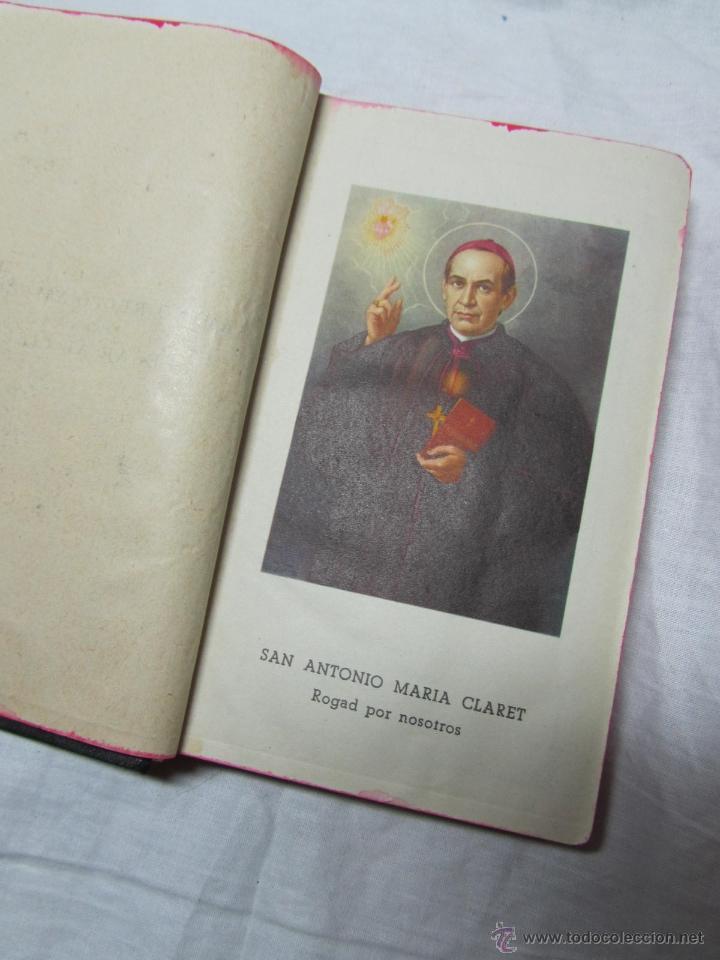 Libros de segunda mano: Camino recto y seguro para llegar al cielo A.M. Claret 1953 - Foto 6 - 46724616
