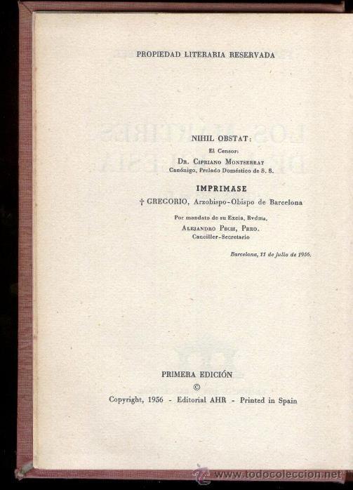 Libros de segunda mano: LOS MARTIRES DE LA IGLESIA - FRAY JUSTO PÉREZ DE URBEL (1ª edicion-1956) - Foto 2 - 46916616