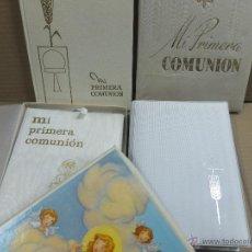 Libros de segunda mano: LOTE DE TRES LIBROS MI PRIMERA COMUNION +ALBUM FOTOS -AÑOS 60. Lote 46932850