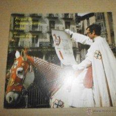 Libros de segunda mano: SEMANA SANTA VALLADOLID PREGON 1981. Lote 46973992