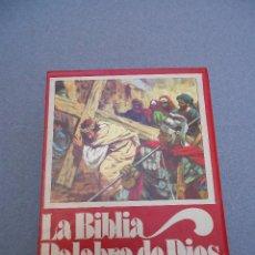 Libros de segunda mano: LA BIBLIA. TRES TOMOS. PALABRA DE DIOS. Lote 47012021