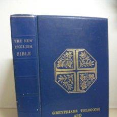 Libros de segunda mano: THE NEW ENGLISH BIBLE - (EN INGLES) 1970. Lote 47100829