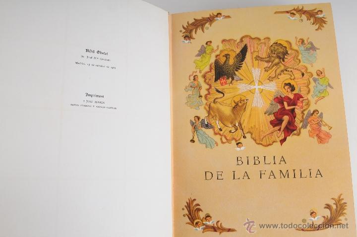 Libros de segunda mano: LA SANTA BIBLIA EDITORIAL PLANETA 2ª EDICION AÑO 1964 - Foto 2 - 194973868