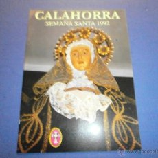 Libros de segunda mano: SEMANA SANTA CALAHORRA 1992. Lote 47329099