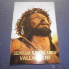Libros de segunda mano: SEMANA SANTA VALLADOLID 1992. Lote 47329237