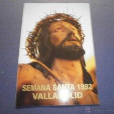 Libros de segunda mano: SEMANA SANTA VALLADOLID 1992. Lote 47329359