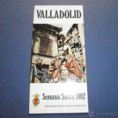 Libros de segunda mano: SEMANA SANTA VALLADOLID 1982. Lote 47329837