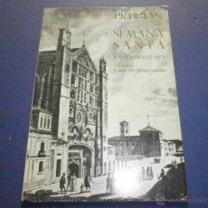 Libros de segunda mano: SEMANA SANTA VALLADOLID 1975 PREGON. Lote 47330820