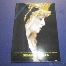 Libros de segunda mano: SEMANA SANTA LEPE 1992. Lote 47331493