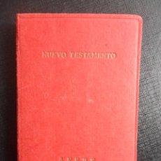 Libros de segunda mano: NUEVO TESTAMENTO. POR AFEBE. EDITORIAO AFEBE, 1965, TAPA DURA. 10 X 14 CMS. 509 PAGINAS. 150 GRAMOS.. Lote 47372894