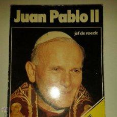 Libros de segunda mano: JUAN PABLO II EL HOMBRE QUE VINO DE POLONIA 1978 AVERBODE VERLAG ALTIORA A.T.E. . Lote 47595142