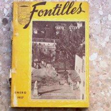 Libros de segunda mano: FONTILLES AÑO 1957. Lote 47638162