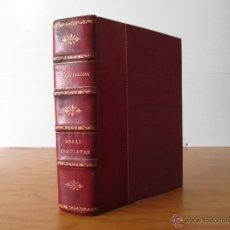 Libros de segunda mano: OBRAS COMPLETAS DEL P. LUIS COLOMA, S.I. EDITORIAL RAZON Y FE. PLENA PIEL REPUJADA.. Lote 48211018