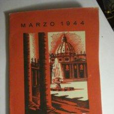 Libros de segunda mano: REVISTA HECHOS Y DICHOS - JUNIO 1944 - Nº 113 - RELIGION - MIRA OTROS EN MI TIENDA. Lote 48306833
