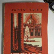 Libros de segunda mano: REVISTA HECHOS Y DICHOS - JUNIO 1944 - Nº 116 - RELIGION - MIRA OTROS EN MI TIENDA. Lote 48306844
