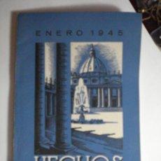 Libros de segunda mano: REVISTA HECHOS Y DICHOS - JUNIO 1945 - Nº 122 - RELIGION - MIRA OTROS EN MI TIENDA. Lote 48306863