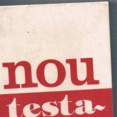 Libros de segunda mano: NOU TESTAMENT EDITORIAL CLARET. Lote 48343243