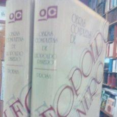 Libros de segunda mano: OBRAS COMPLETAS. 2 VOLS. Lote 48427845