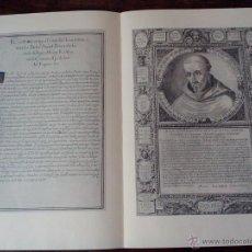 Libros de segunda mano: 1990-FOLLETO DE FACSÍMIL CÓDICE S.XVI-MONASTERIO LA OLIVA (NAVARRA)-BERNARDO CLARAVAL-GRABADOS-IX CE. Lote 48935981